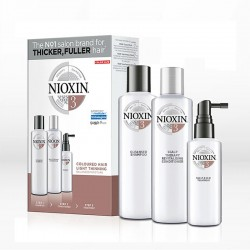Nioxin System 3 Kit Colored Hair Light Thinning (για Βαμμένα Μαλλιά)