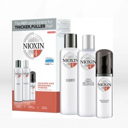 Nioxin System 4 Kit Colored Hair with Progressed Thinning (για Βαμμένα Μαλλιά)