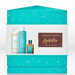 Moroccanoil Hydrate From All Angles Holiday Gift Set (Σαμπουάν 250ml, Γαλάκτωμα 250ml & Oil Treatment For All Hair Types 25ml)
