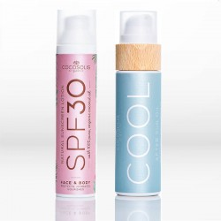 Πακέτο Cocosolis Natural Sunscreen Lotion SPF30 100ml & COOL After Sun Oil 110ml