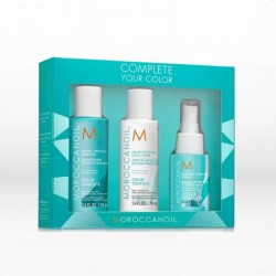 Moroccanoil Complete Your Color Set (Σαμπουάν, Conditioner, Protect Spray)